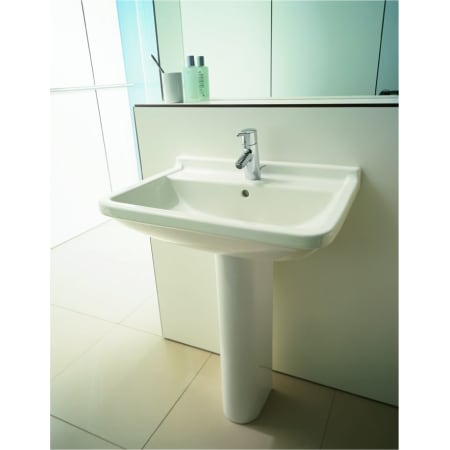 Duravit 0304700000 White Starck 3 28 Ceramic Vanity Top With Backsplash