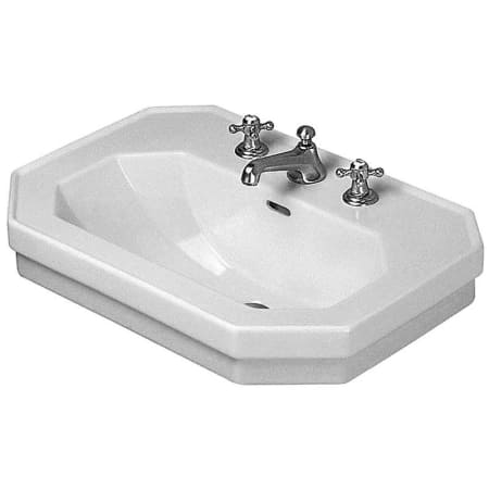 Duravit 0438600087 White 1930 Ceramic 23 5 8 Quot Bathroom