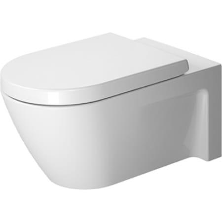 Duravit 2533090092 White Starck 2 Dual Flush Two-Piece Elongated ...