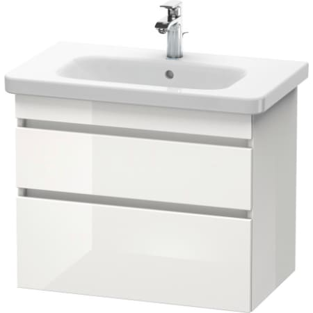Duravit Ds648102222 Durastyle 28 3 4 Wall Mounted Vanity Cabinet Only