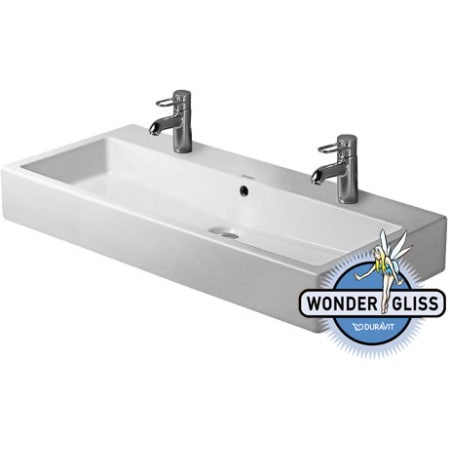 Duravit 04541000261 white wondergliss vero 39 38 ceramic duravit 0454100026 workwithnaturefo