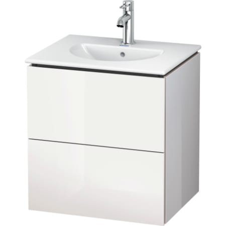 Duravit Lc626008585 L Cube 20 1 2 Wall Mounted Vanity Cabinet Only