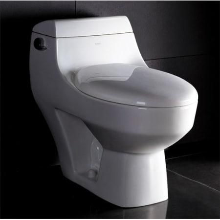 Eago Tb108 White One Piece Toilet Sleek Design Includes