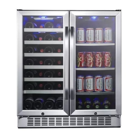 Edgestar Cwb2886fd 30 Inch Wine And Bev Cooler