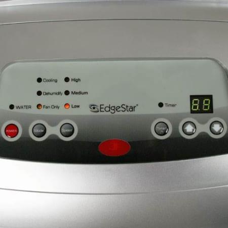 Edgestar Ap12000hs Silver Medium Room Cools Up To 425