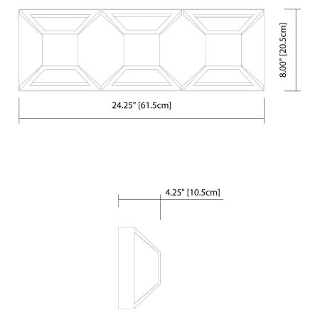 Elan 83521 Matte White Copan Vanity Light Lightingdirect Com