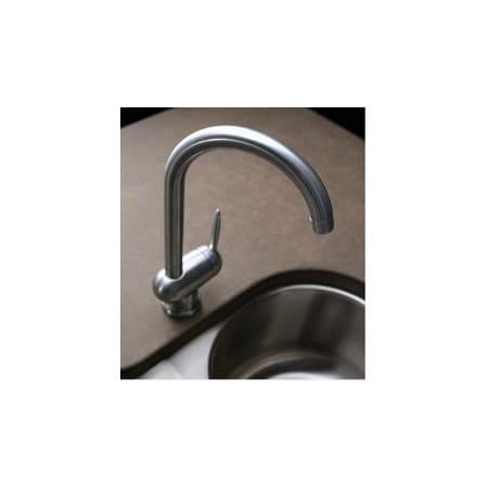 Elkay Lk7522nk Brushed Nickel Moda 12 14 Single Handle Kitchen