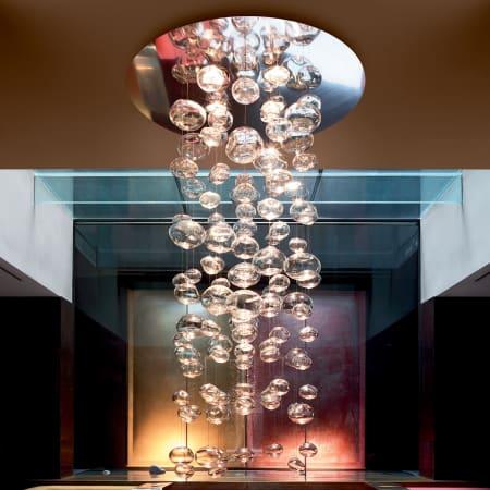 Eurofase lighting 16385 013 chrome tonic 4 light large pendant eurofase lighting 16385 aloadofball Image collections
