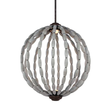 Feiss P1432DWG/WI-LED Driftwood Grey / Weathered Iron Orren 20\