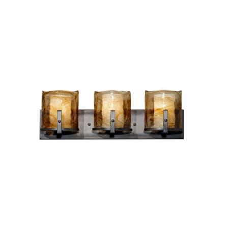 Feiss Vs18903 Rbz Roman Bronze Aris 3 Light Bathroom
