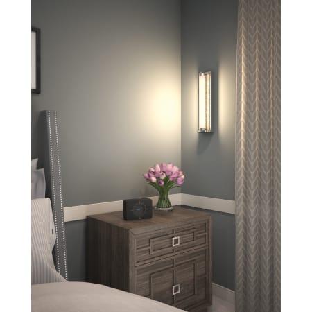 Feiss Wb1839ch Led Chrome Khoury Single Light 5 Wide Led Ada Compliant Bath Bar Lightingshowplace Com