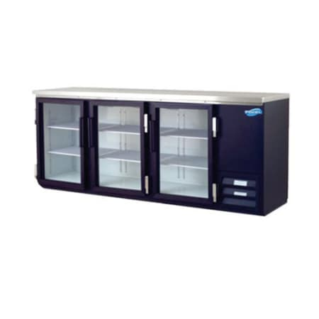Gl Three Door Back Bar Cooler