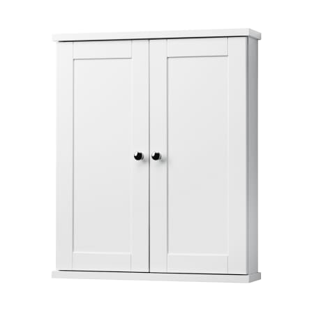 A Large Image Of The Foremost Co2125 White Columbia Bathroom Wall Cabinet