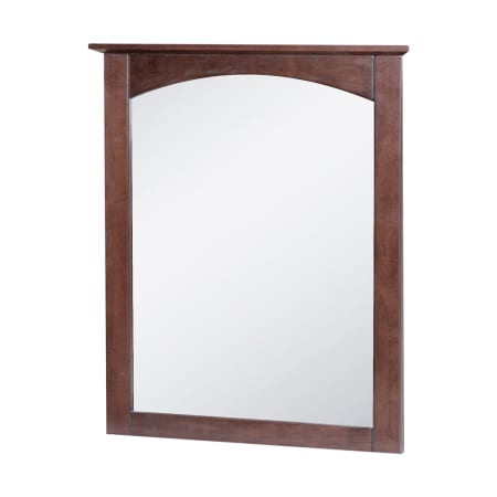 Foremost cocm2431 cherry columbia 25 wood framed bathroom mirror for Cherry wood framed bathroom mirrors