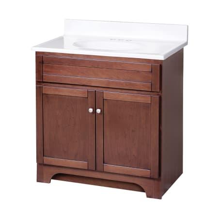Foremost cowat3018 white columbia bathroom vanity 31 - Foremost bathroom vanity reviews ...