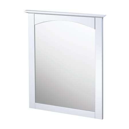 Foremost cowm2431 white columbia 25 wood framed bathroom - White wood framed bathroom mirrors ...