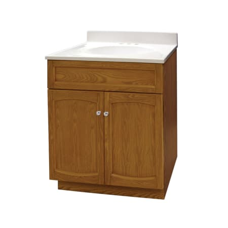 Foremost Heo2418 Oak Heartland 24 Free Standing Vanity Set With