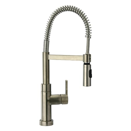 Fortis 9255700bn Brushed Nickel Pre Rinse High Arc Kitchen