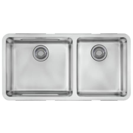 Franke Black Kitchen Sinks Franke kbx12034 stainless steel kubus 34 58 x 17 13 double basin franke kbx 120 34 workwithnaturefo