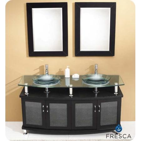 Fresca Fvn3310es Espresso Contento 59 Quot Wood And Ceramic