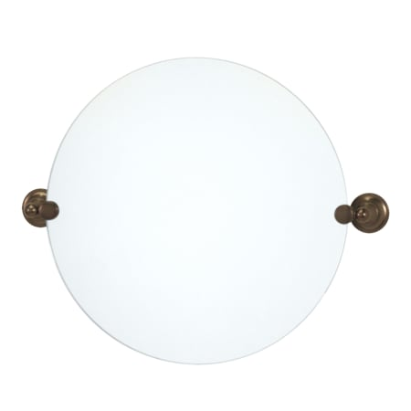 Gatco 4349r Oil Rubbed Bronze Round Mirror From The Tiara Series