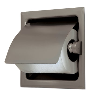 Gatco 786 Satin Nickel Recessed Toilet Paper Holder With