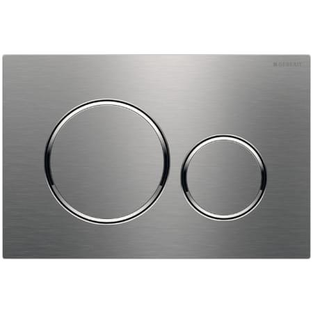 Geberit 115 882 Sn 1 Stainless Steel Sigma 20 Dual Flush 1