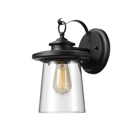 A large image of the Globe Electric 44170 Black