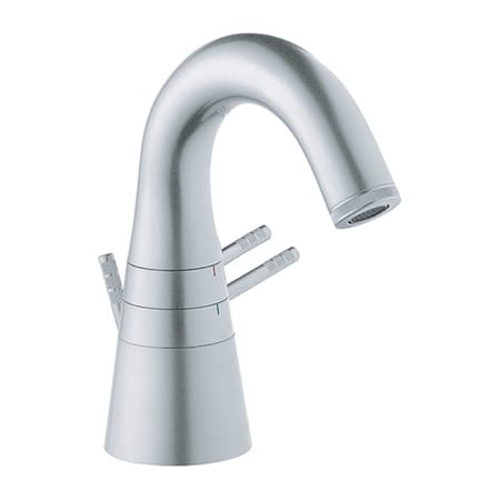 Grohe 21077BKO Aluminum F1 Collection - Double Handle Lavatory ...