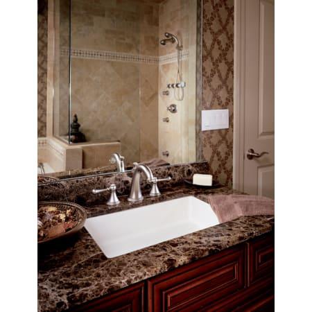 Grohe 20801000 Starlight Chrome Geneva Widespread Bathroom