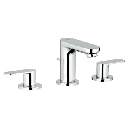 grohe 2019900a starlight chrome eurosmart 1 2 gpm cosmopolitan widespread bathroom faucet with. Black Bedroom Furniture Sets. Home Design Ideas
