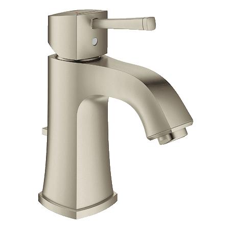 Grohe 23311en0 Brushed Nickel Grandera Bathroom Faucet Single Handle Single Hole With Silkmove
