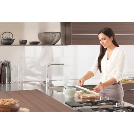 Grohe 30271000 Starlight Chrome Essence Pull Out Kitchen
