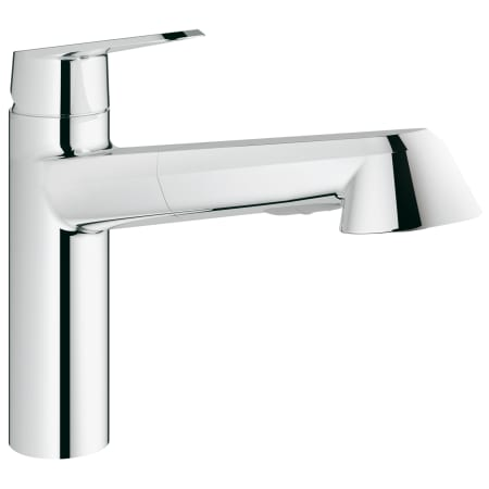 Grohe 33330002 Starlight Chrome Eurodisc Cosmopolitan Pull Out