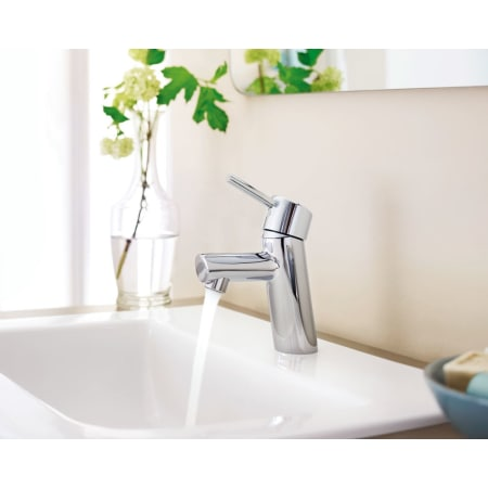 Grohe 3427000a Starlight Chrome Concetto 1 2 Gpm Single
