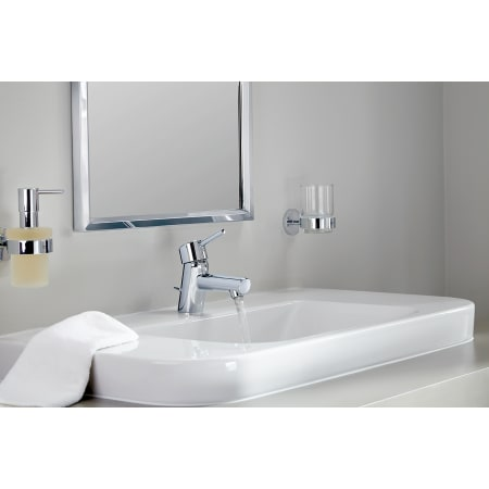 Grohe 34271001 Starlight Chrome Concetto New Bathroom Faucet With Silkmove Cartridge Less Drain