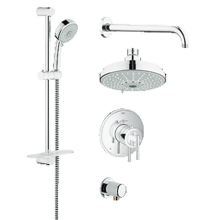 A Large Image Of The Grohe 35 056 Starlight Chrome