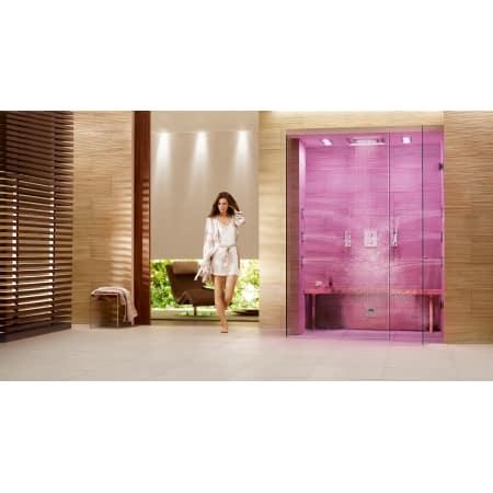 grohe f digital 100 cf steam shower. Black Bedroom Furniture Sets. Home Design Ideas