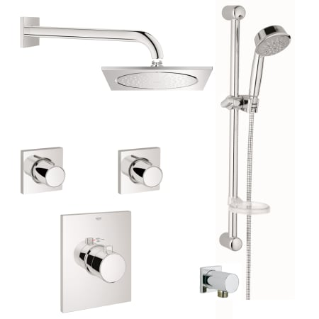 A Large Image Of The Grohe Gss Grohtherm Fcth 07 Starlight Chrome
