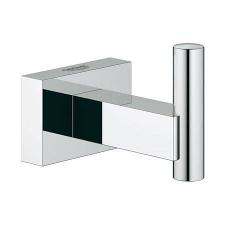 grohe 40511000 starlight chrome essentials cube single robe hook. Black Bedroom Furniture Sets. Home Design Ideas