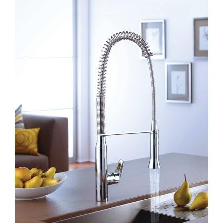 Grohe 32951000 Starlight Chrome K7 Pre Rinse Kitchen