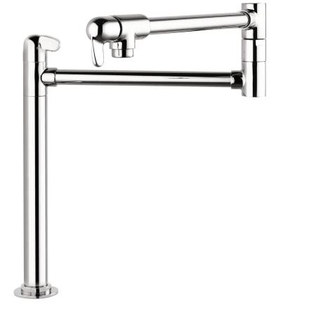 Hansgrohe 04060000 Chrome Allegro E Pot Filler Faucet Deck Mounted ...