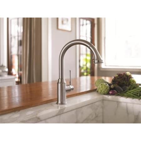 Hansgrohe 04215000 Chrome Talis C High Arc Pull Down