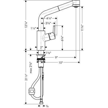 Hansgrohe 04247 4247 Kitchen Faucet Build Com