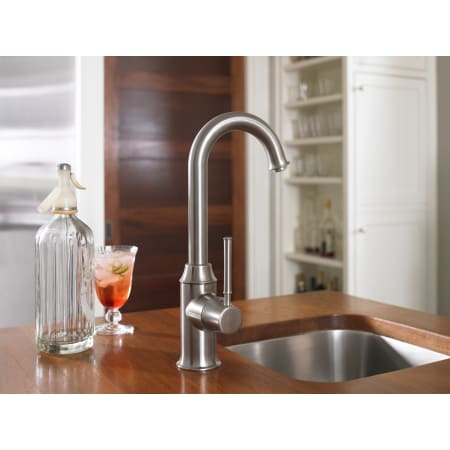 Hansgrohe 04302800 Steel Optik Talis C Cold Only Beverage