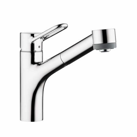 hansgrohe 04704005 chrome talis loop single handle pull. Black Bedroom Furniture Sets. Home Design Ideas
