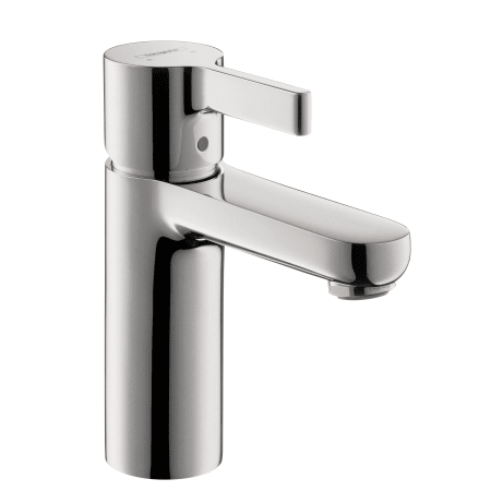Hansgrohe 31060001 Chrome Metris S 1.2 GPM Single Hole Bathroom ...