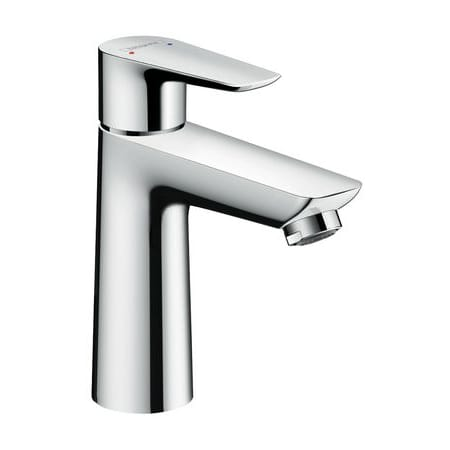 Hansgrohe 71710001 Chrome Talis E 1.2 GPM Single Hole Bathroom ...