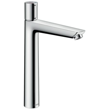 Hansgrohe 71753001 chrome talis e 1 2 gpm single hole bathroom faucet with quickclean for Hansgrohe talis bathroom faucet