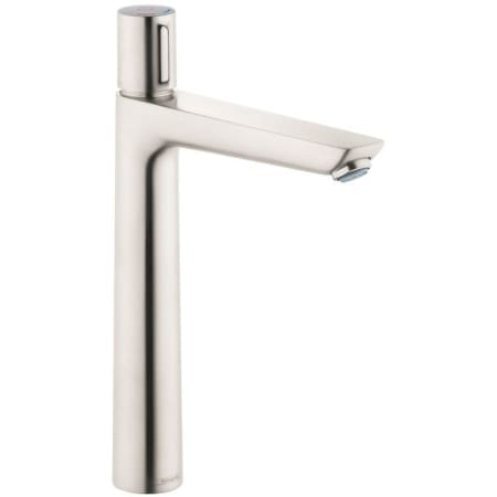 Hansgrohe 71753821 brushed nickel talis e 1 2 gpm single hole bathroom faucet with quickclean for Hansgrohe talis bathroom faucet